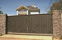 Самые безопасные автоматические ворота – металлические: так ли это?