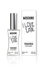 Тестер женский Moschino I Love Love, 60 мл.