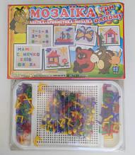 Мозаїка 3в1 абетка арифметика логіка