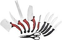 Набор кухонных ножей Контр Про Contour Pro Knives держатель в подарок