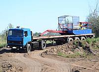 Аренда услуги мини - земснаряда, почистить озеро