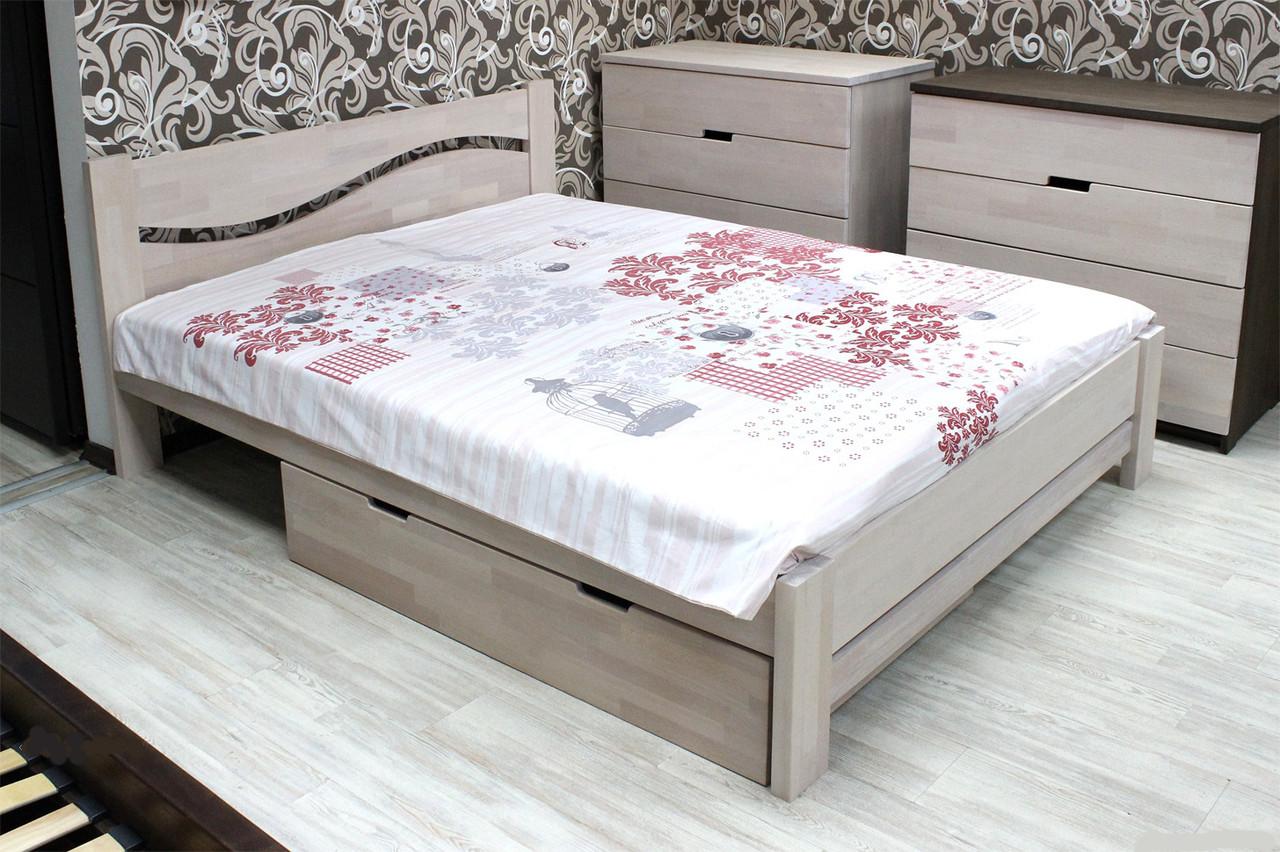 Кровать деревянная Л-3