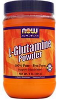 Глютамин Now Foods L-Glutamine Powder 454gr