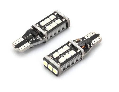 Светодиодная led лампочка 12В T15-2835-15 SMD(7195), фото 2