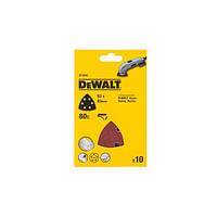 Шлифлисты для дельташлифмашин (10 шт.) DeWALT DT3092 (США/Швейцария)