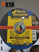 Шлифовальный круг Novo Abrasive по металлу 125х6х22.23 (тип 1)
