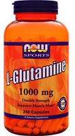 Глютамин Now Foods L-Glutamine Powder 240 сaps