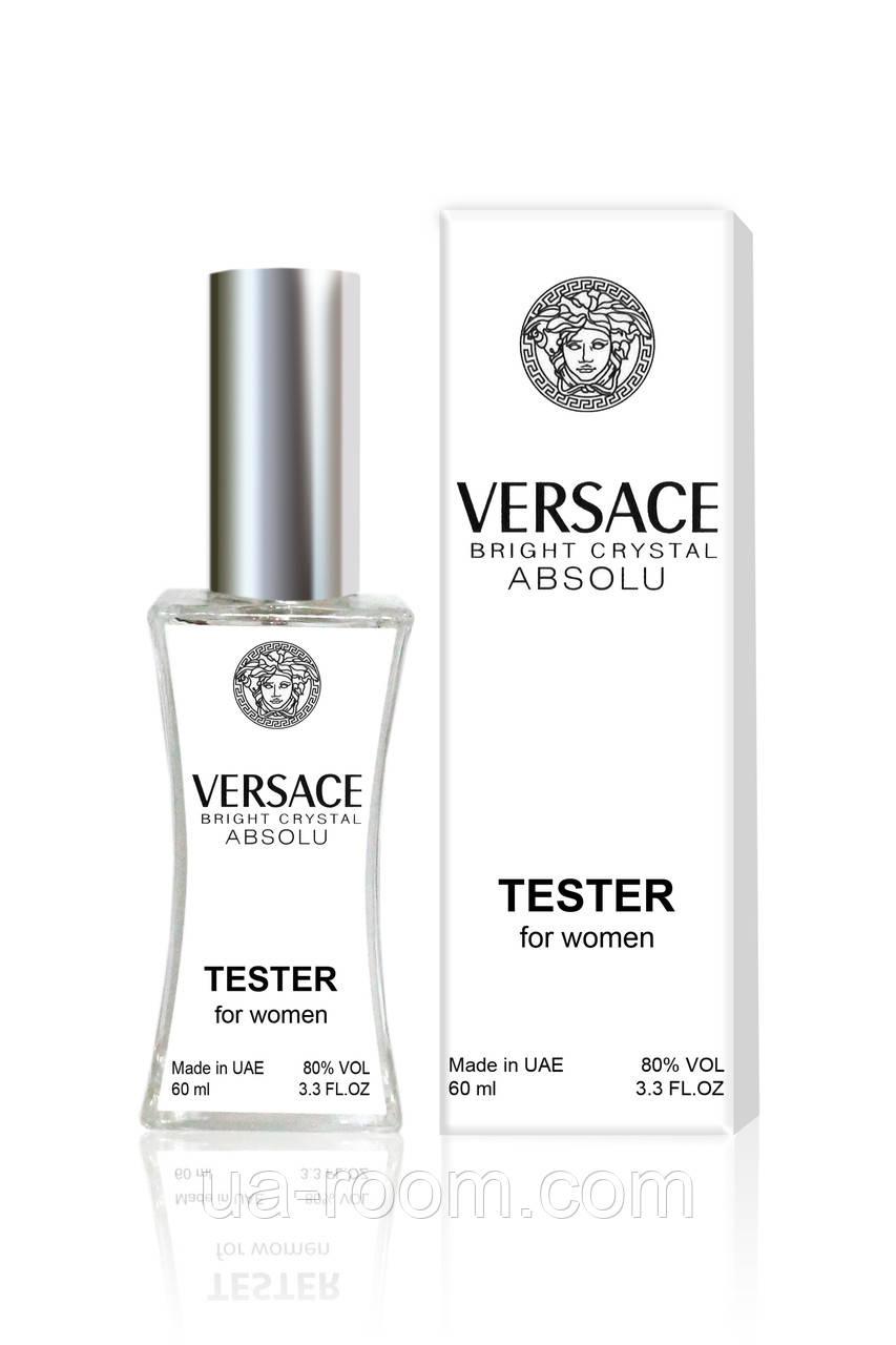 Тестер женский Versace Bright Crystal Absolu, 60 мл.