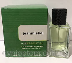 Мужской цитрусовый парфюм jeanmishel Love Essential 60ml