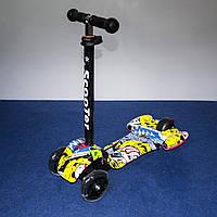 Самокат Scooter ракета 1001, фото 1