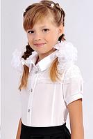Школьная блузка с кружевом, фото 1