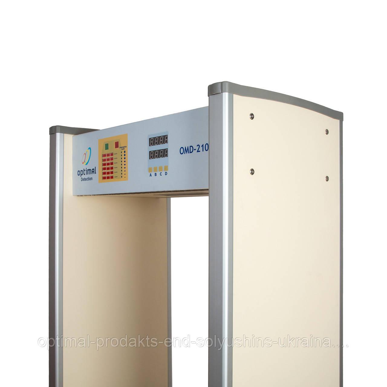 Стационарный проходной арочный металлодетектор OMD-2101