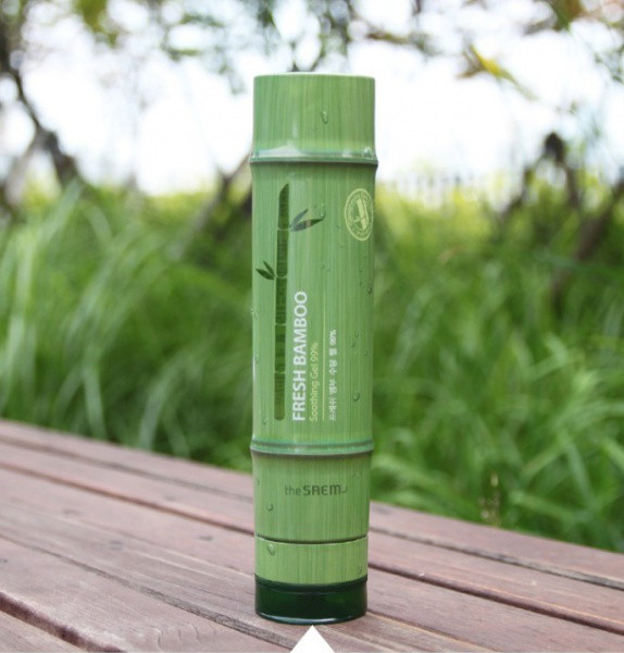 Гель с бамбуком The Saem Fresh Bamboo Soothing Gel 99%
