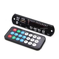 Встраиваемый плеер, декодер модуль  мп3  №4  питание 12В,  c блютуз, Bluetooth