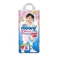 Трусики Moony Super Big XXL (13-25 кг), для Девочки, 26 шт