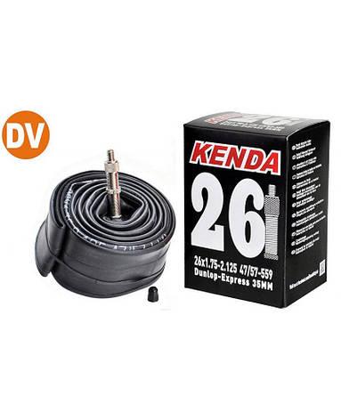 Камера Kenda 26x1.75-2.125 DV 35мм (O-D-0115), фото 2