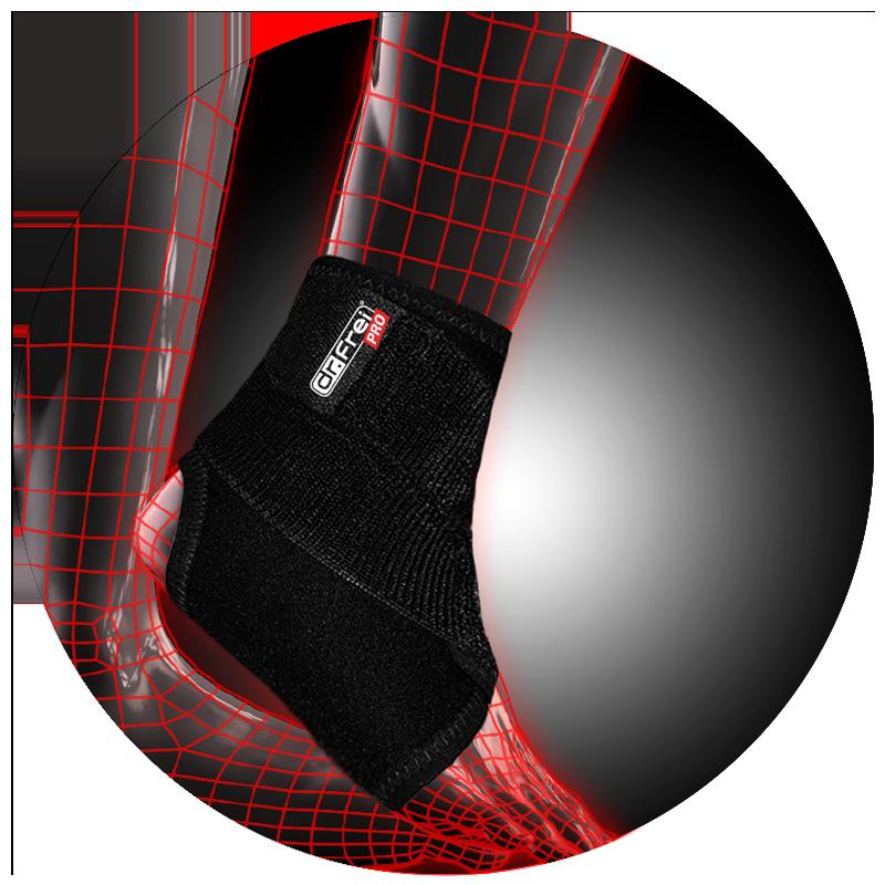 Спортивный бандаж регулируемый на голеностопный сустав Dr. Frei S7028