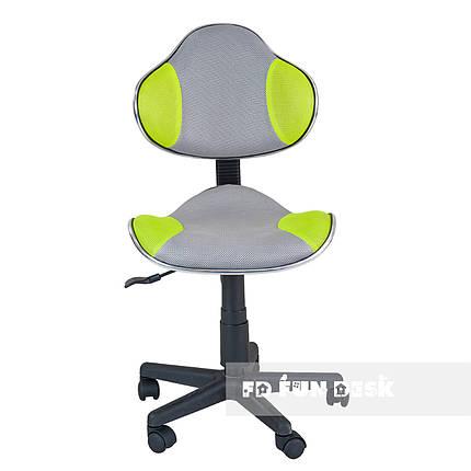 Детское компьютерное кресло FunDesk LST3 Green-Grey, фото 2