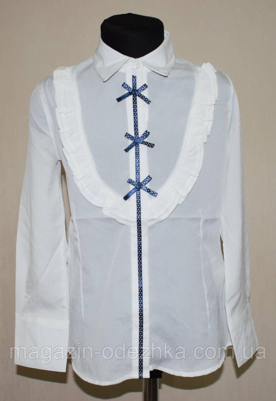 Блузка школьная оптом для девочки 128-164 рост
