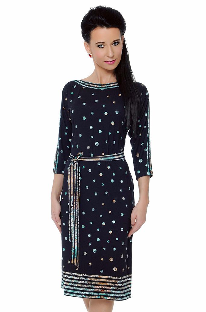 671c41a0f53 Купить Женское платье в горошек. Модель Kuga Top-Bis