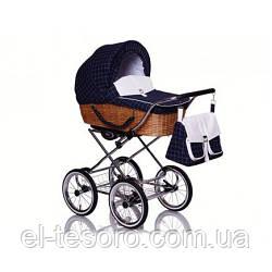 Детская универсальная коляска Classic Retro  R-13 горох
