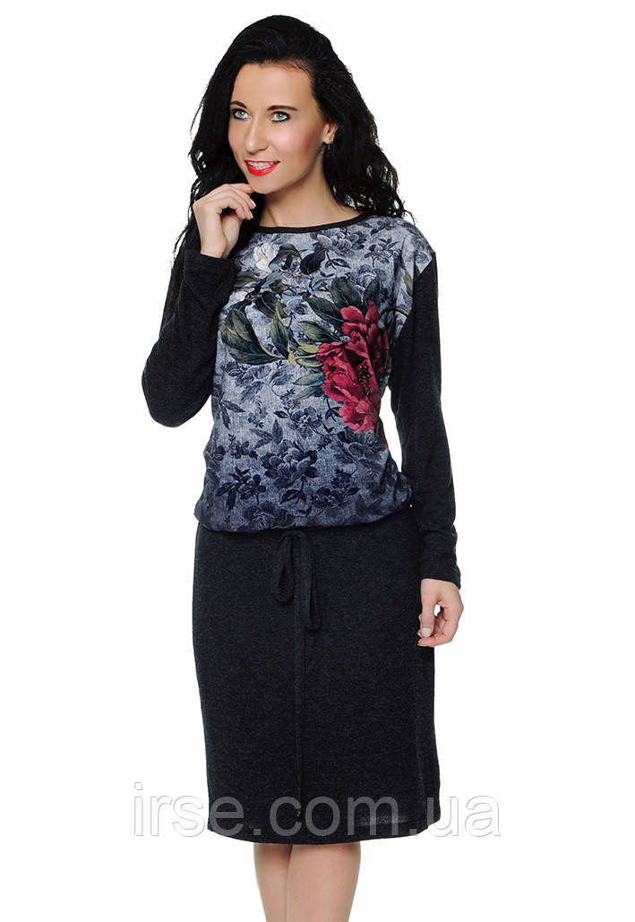 d39541a2321e Женское трикотажное платье с длинным рукавом. Модель Galia Top-Bis,  коллекция ...