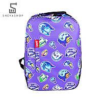 Рюкзак Punch Buzz cats фиолетовый, фото 1