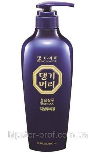 Тонизирующий шампунь для жирной кожи головы Daeng Gi Meo Ri ChungEun Shampoo For Oily Scalp 500 ml
