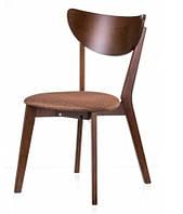 Деревянный стул C-616 Модерн дизайнерская мебель, цвет орех, Заказ от 2 штук