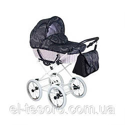 Детская универсальная коляска Classic Retro Len RL-13 орнамент