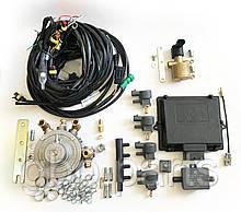 Комплект Romano OBD 290 кВт Direct injection на 4 циліндра (електроніка, редуктор, газовий клапан, форсунки)