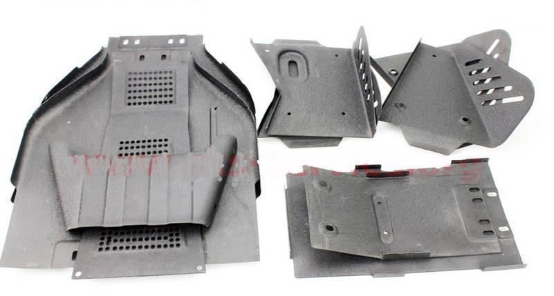 Защита днища для квадроцикла ATV 110-200куб/см с воздушным и масляным охлаждением, фото 2