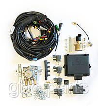 Комплект Romano OBD 100кВт Direct injection на 4 циліндра (електроніка, редуктор, газовий клапан, форсунки)
