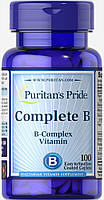Витаминно-минеральный комплекс Puritan's Pride Complete B 100 капс
