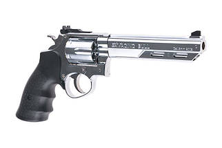 Реплика револьвера HG133B-1 - Silver [HFC] (для страйкбола), фото 3
