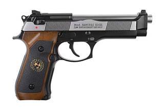 Страйкбольный пистолет Samurai Edge Standard V2. M9 Full Auto - Black/silver [WE] (для страйкбола), фото 2
