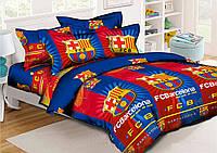 Постельное белье подростковое ранфорс Krispol FCB Barselona