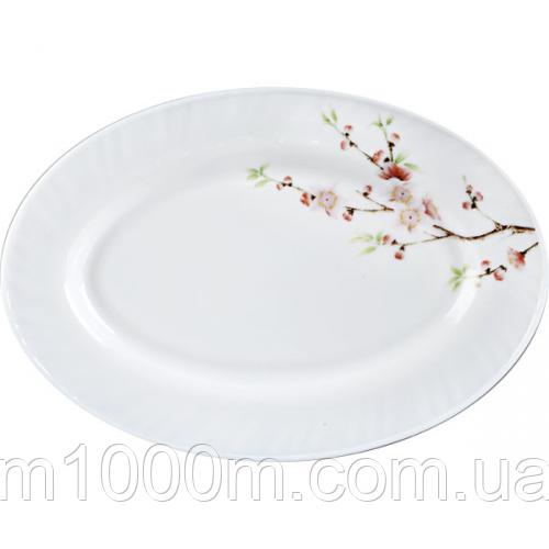 Блюдо овальное 35см Японская Вишня 30063 61122