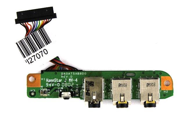 Плата Audio+ИК для HP Pavilion DV9700