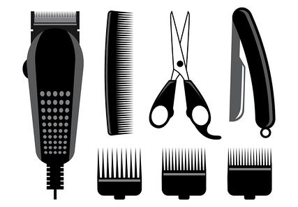парикмахерский инструмент и косметика для волос