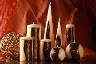 Декоративная свеча RAK - Antic Slupek 70/130- Цилиндр 70/130мм