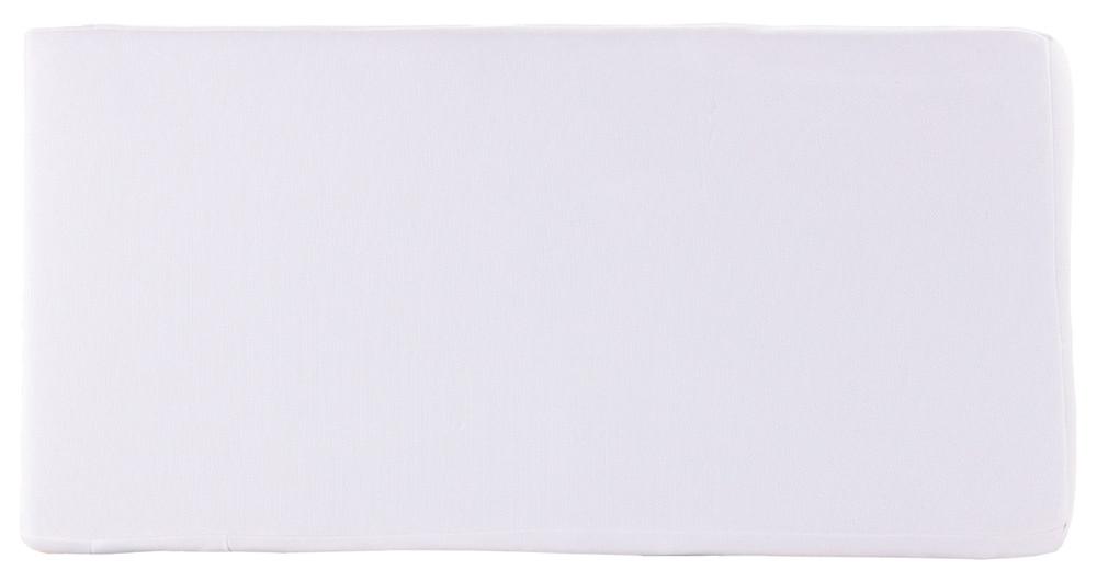 Матрас Qvatro KPK-10 люкс толстый (кокос, поролон, кокос) белый