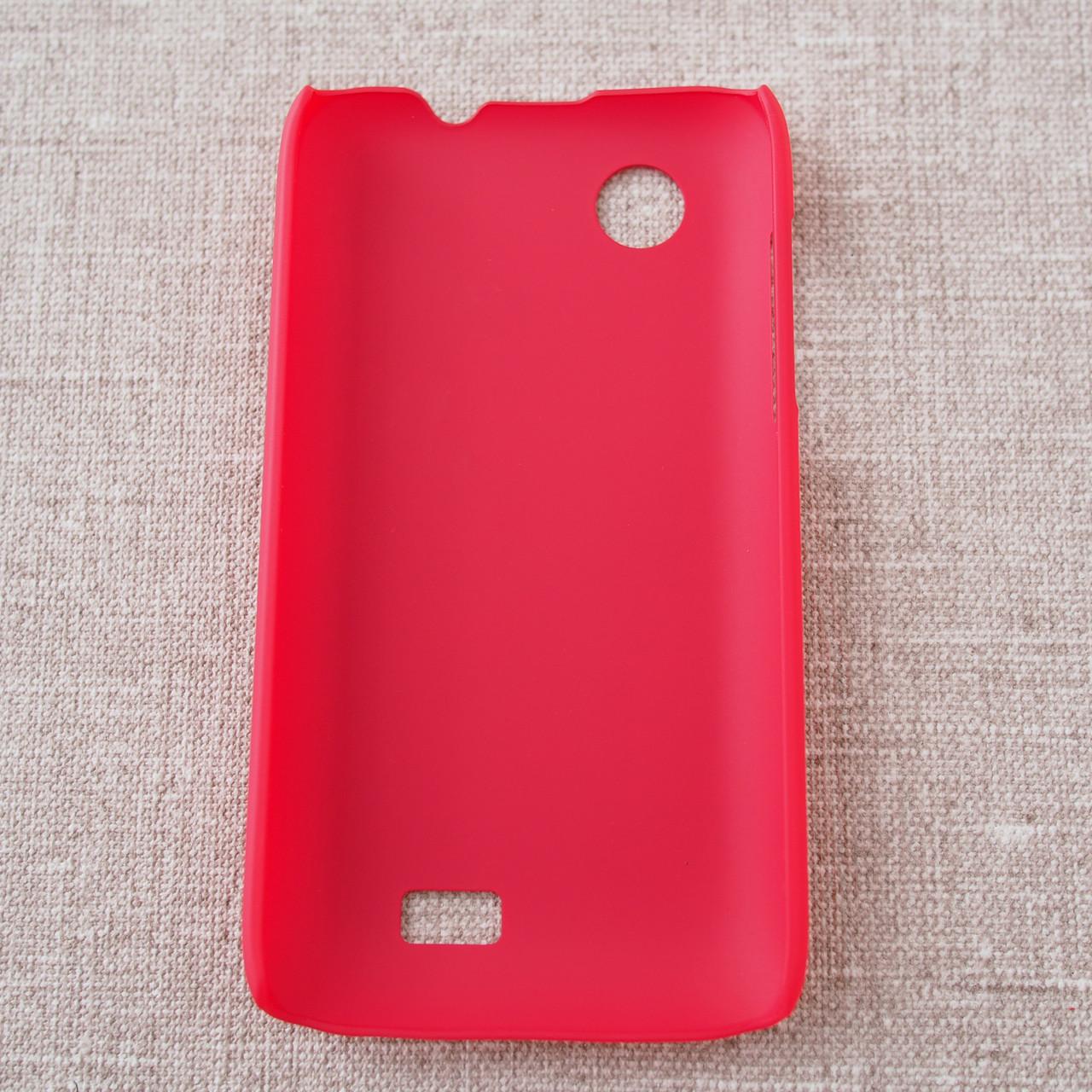 Nillkin Super Frosted Shield Lenovo A369 red Для телефона