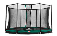 Батут Berg Elite+InGround Green 430+Safety Net T-series 430