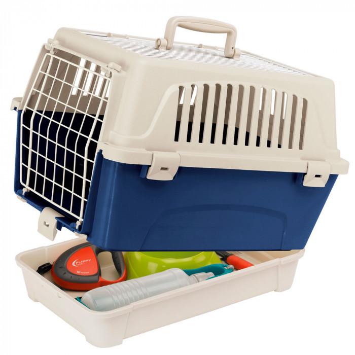 Переноска для кошек и мелких собак с открывающимся верхом Ferplast ATL