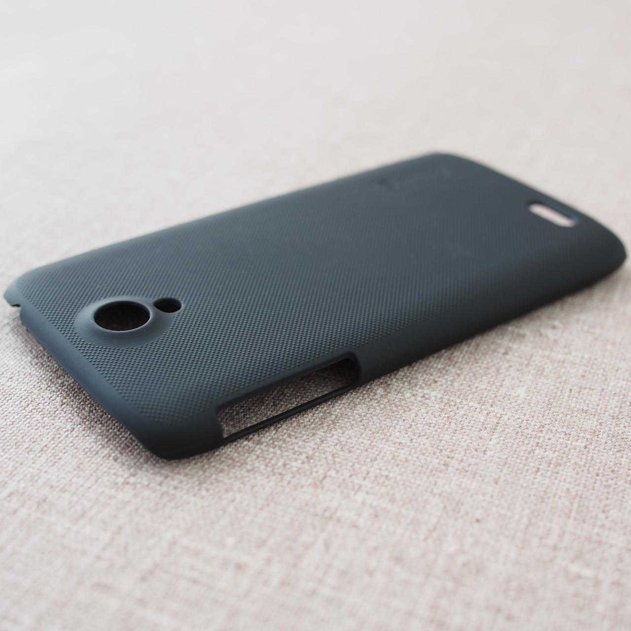 Накладка Nillkin Super Frosted Shield Lenovo S820 black Для телефона