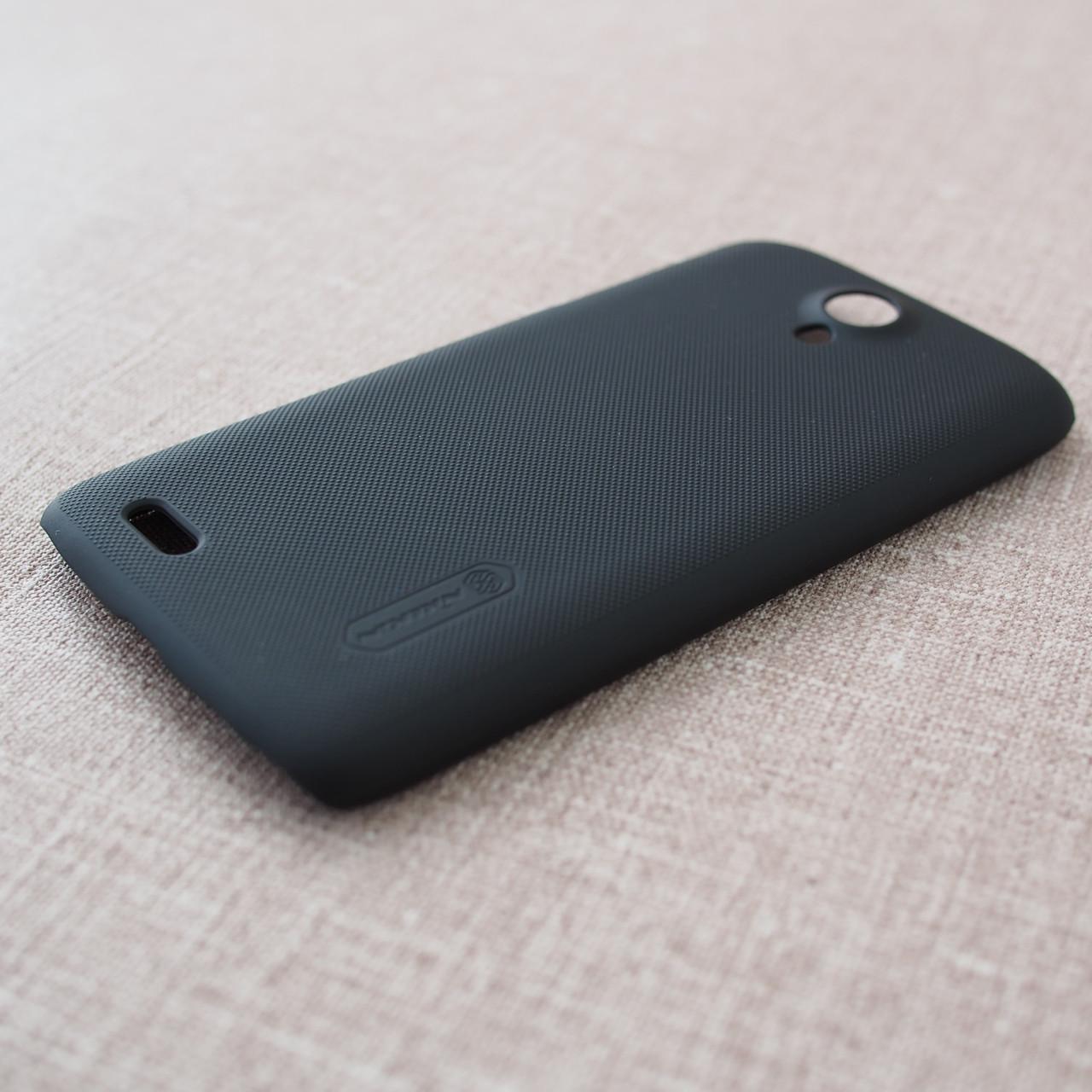Накладка Nillkin Super Frosted Shield Lenovo S820 black