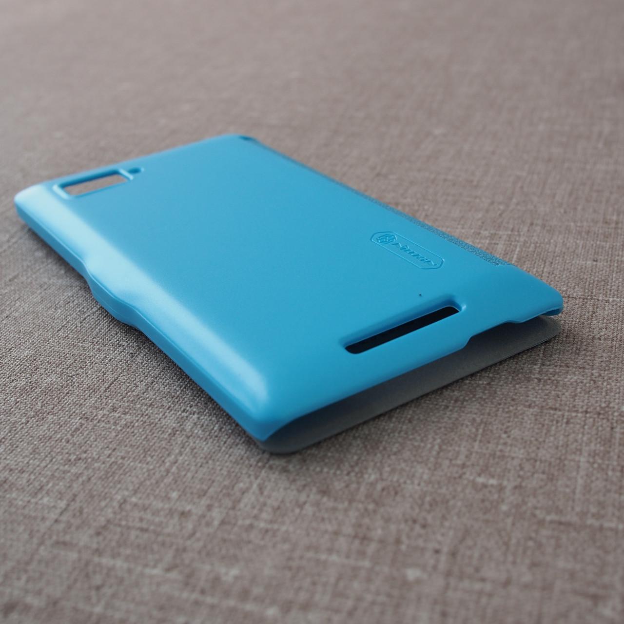Nillkin Fresh Lenovo K910 light-blue Для телефона