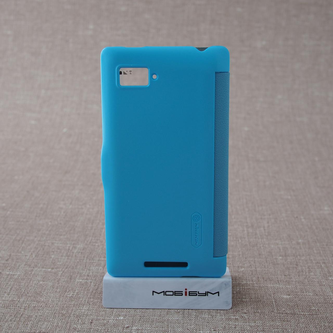 Чехлы для других смартфонов Nillkin Fresh Lenovo K910 light-blue