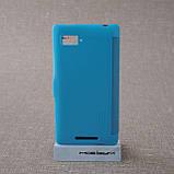 Чехол Nillkin Fresh Lenovo K910 light-blue EAN/UPC: 6956473272595, фото 2